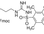 Structure of Fmoc-Arg(Pbf)-OH CAS 154445-77-9