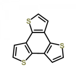 Structure of Benzotrithiophene CAS 29150-63-8