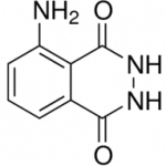 Structure of 3-Aminophthalhydrazide CAS 521-31-3