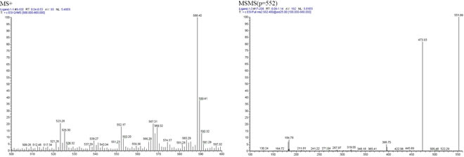 NiXanthphos CAS 261733-18-0 MS