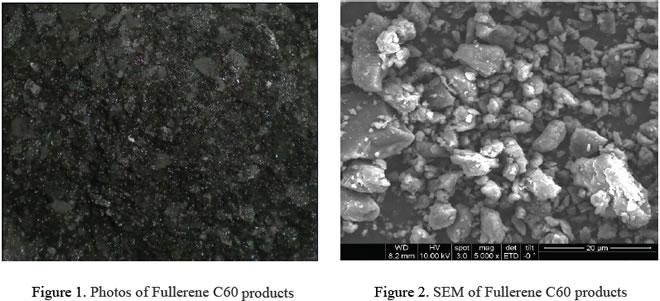 Appearance of Fullerene C60 CAS 99685-96-8