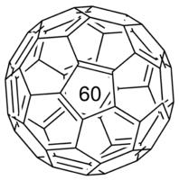 structure of Fullerene C60 CAS 99685-96-8