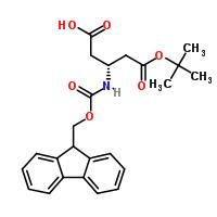 Fmoc-beta-HoAsp(OtBu)-OH CAS 209252-17-5 structure