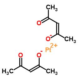 structure of Platinum bis(acetylacetonate) CAS 15170-57-7